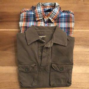 5 Gap Shirts size Small Boys